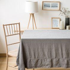 tischdecke und serviette aus leinen linen collection tisch zara home deutschland. Black Bedroom Furniture Sets. Home Design Ideas