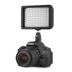 Chromo Inc CI55000020 160 LED CI-160 Dimmable Ultra High Power Panel, Camcorder Video Light for Canon, Nikon, Pentax, Panasonic, Sony, Samsung and Olympus Digital SLR Cameras Chromo Inc