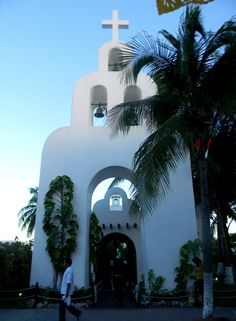 The chapel in the zocalo, Playa del Carmen Mexico. #churches. I have been here many times.