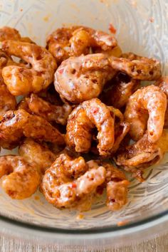 Bang Bang Shrimp are crispy, creamy, sweet, and spicy. They are so satisfying served as Bang Bang Shrimp Tacos drizzled with the famous sauce Shrimp Recipes, Appetizer Recipes, Fish Recipes, Mexican Food Recipes, Appetizers, Mexican Dishes, Barbeque Shrimp, Spicy Shrimp Tacos, Sriracha Hot Chili Sauce