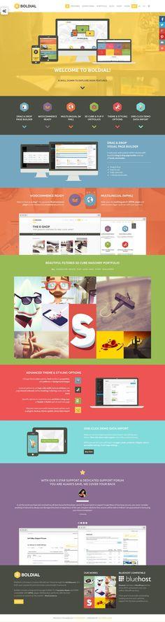 Cool Web Design, BOLDIAL. #webdesign #webdevelopment [http://www.pinterest.com/alfredchong/]