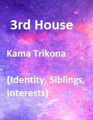 Third house: 12 Houses of a horoscope Vedic Astrology - Astrology Answers Vedic Astrology, Stress Management, Horoscope, Third, Identity, Houses, Health, Homes, Health Care