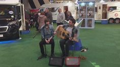 Jamming on the Bailey stand at the February 2015 NEC show. Jam On, February 2015, Birmingham, Bristol, Fun Activities, Wrestling, Sports, Short I Activities, Lucha Libre