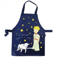Blue apron The Little Prince Little Prince Party, The Little Prince, The Petit Prince, Ice Cream Sign, Sewing Crafts, Sewing Projects, Kids Cookbook, Blue Apron, Creative Gifts