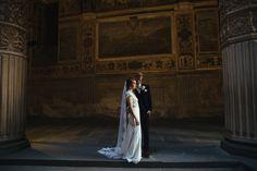 Wedding Portrait in Florence