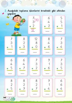 1. Sınıf Konu Anlatım EV ÇALIŞMALARI 2nd Grade Math Worksheets, 1st Grade Math, Grade 1, First Grade, Math Measurement, School Subjects, Pre School, Math Activities, Bingo