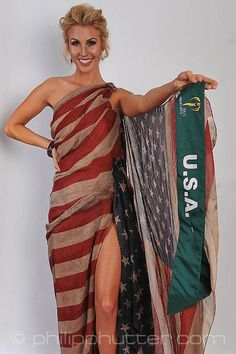 Miss USA - Brittany Ann Payne posing with her National Costume as part of the activities. Miss Earth 2015 was held on 5 December 2015 at Marx Halle in Vienna, Austria. It was the first time the pageant was held in Europe and outside of Asia. It was also the first back to back victories in Miss Earth history: Angelia Ong of the Philippines crowned by Jamie Herrell of the Philippines. #NationalCostumes #MissEarth2015 #BeautyPageant #BeautiesForACause