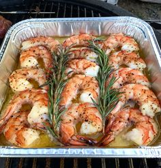 Smoked buttery shrimp will rock your world!