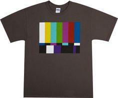 TV Test Pattern Shirt