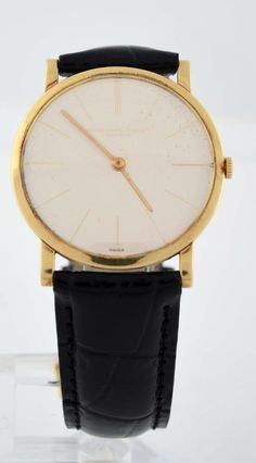Audemars Piguet 18k Yellow Gold Strap Watch : Lot 0034