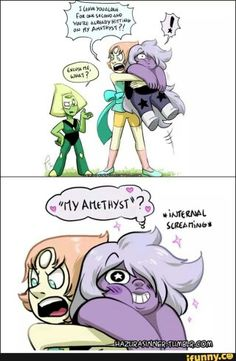 If only *sighs* It seems like all the Pearlmethyst shippers have left for Amedot and I hate it.