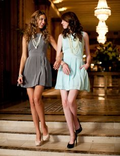 Karli this would be us if you move out here... we would just be shorter and darker