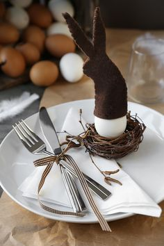 DIY - Decorate your table in Easter