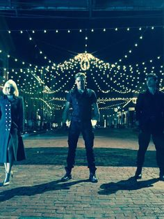 Isabelle, Jace, and Alec // SHADOWHUNTERS tv show.