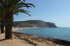 The gorgeous Praia de Luz, Algarve
