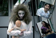 Scary Ghost Subway Prank