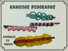 Como decorar ganchos facilisimo. DIY