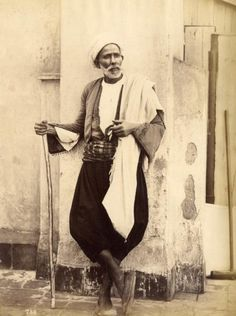 Moyzs - Muslims of Constantine and Algiers (Algeria) . Antique Photos, Vintage Photos, Old Pictures, Old Photos, History Of Morocco, Empire Ottoman, Retro Images, Historical Art, Historical Clothing