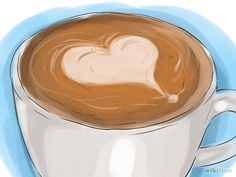 <p>Here is a step-by-step illustrated guide on making a latte art. This specifically discusses the tulip (or flower) and heart which are a couple of the more basic latte art motifs and a great place to start.</p>