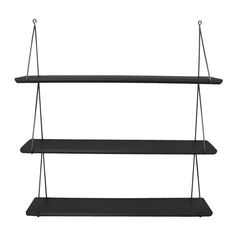 Køb grå hylde i 3 fag fra Rose in April online her - Lirum Larum Leg ApS Pink Shelves, Black Shelves, Wooden Shelves, Wall Shelves, Shelving, Playroom Furniture, Small Furniture, Furniture For You, Nursery Shelves
