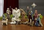 TK-NAT-07-14, 7 Inch, 14 piece Real Life Nativity - Great Collection