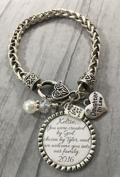 Jewelry Wedding Gift For Daughter : ... Daughter in Law, Gift for BRIDE, Bridal Shower Gift, Wedding Jewelry