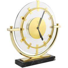 Bauhaus, Art Nouveau, Glass Plaques, Marble Columns, Clocks For Sale, Art Deco Mirror, Mantel Clocks, Desk Clock, Ceramic Table
