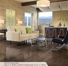 Somerset Floors | Color Plank Collection Smoke
