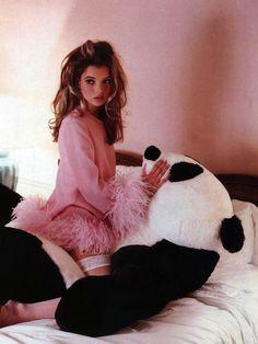 Kate Moss by Lance Staedler; Glamour France, April 1992