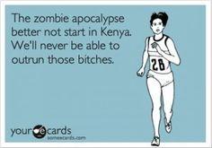 zombie apocalypse, funny quotes