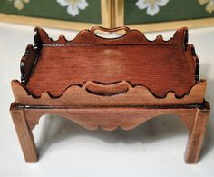 Artisan Keith Bougourd's Butler Serving Tray with Teapot by ea Sandwich Platte…