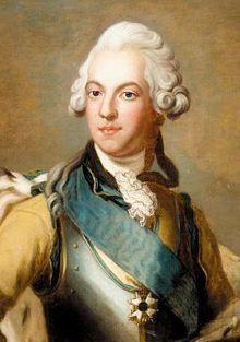 Gustav III Ball | Gustav III, King of Sweden by Alexander Roslin 1