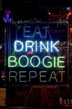 Eat Drink Boogie Repeat / ROUTINE / and again / #anaffinitywitha