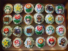 Super Mario Bros Cupcakes on Global Geek News.