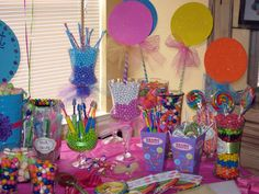 Polka Dots & Sweet Shop Birthday Party Ideas | Photo 18 of 26 | Catch My Party