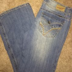 Size 13 Vanilla Star blue jeans. Perfect condition Size 13 Vanilla Star blue jeans can't even tell they've been worn. Only worn once!!! Vanilla Star Jeans Jeans