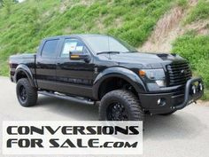 Ford F Fx Tuscany Black Ops Lifted Truck