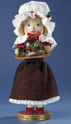 Steinbach A Christmas Carol Nutcracker Series Mrs. Crachit