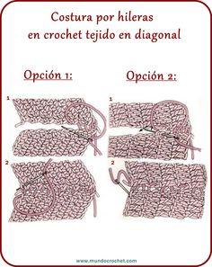 Crochet Video, Crochet Cord, Crochet Cable, Crochet Basics, Crochet Granny, Crochet Stitches, Loom Knitting, Knitting Patterns, Crochet Patterns