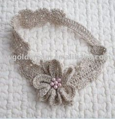 Ladies Crochet Flower Headband Pattern ( CH5027)
