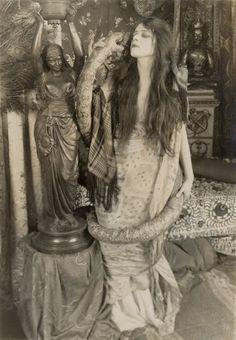"""Theda Bara 〡 The Serpent, 1916"""