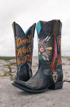 Custom Painted Cowboy Boots by Hopscotch Dandelions | hdwest ...