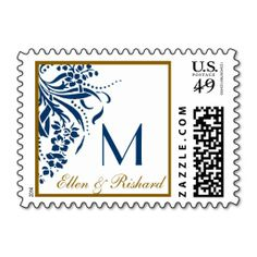 >>>The best place          Monogram Wedding Stamps in Navy Blue and Gold           Monogram Wedding Stamps in Navy Blue and Gold Yes I can say you are on right site we just collected best shopping store that haveHow to          Monogram Wedding Stamps in Navy Blue and Gold Here a great deal...Cleck Hot Deals >>> http://www.zazzle.com/monogram_wedding_stamps_in_navy_blue_and_gold-172204780797933403?rf=238627982471231924&zbar=1&tc=terrest