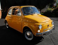 1972 Fiat 500L car on eBay