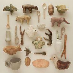 Ceramic Clay, Ceramic Pottery, Ceramic Jewelry, Sculpture Art, Sculptures, Milk Magazine, Keramik Design, Art Beat, Paperclay