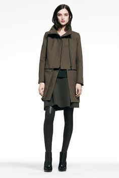 JBrand....This coat is everything #Jbrand #prefall2014 #tomboypicks #tomboystyle #militaryinspired #armygreen