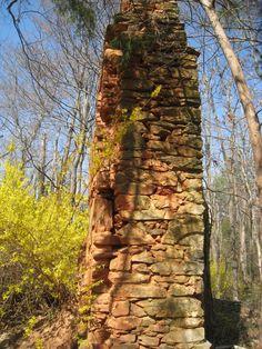 Twitter / DaddysMarbleyes: HOME - Ca Ira, VA; ruins of ...
