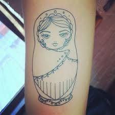 rUSSIAN dOLL TATTOOS family - Google Search