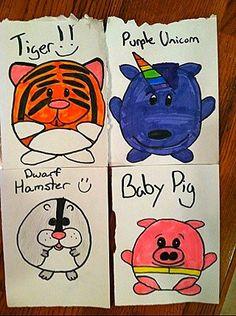 More Squishable fun drawings from fan Robin N's girls! #plush
