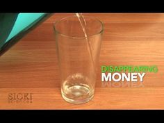 Disappearing Money - Sick Science! For science of optical illusions.